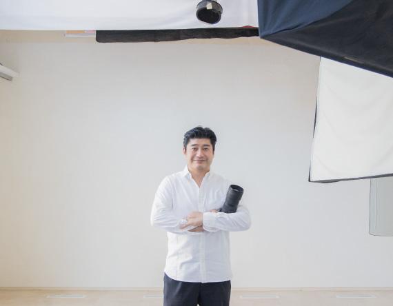 木村写真館のスタジオ内